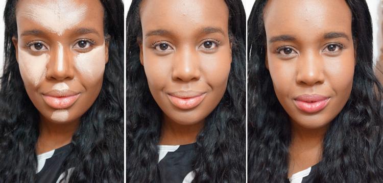 Neste post eu mostro como uso a técnica do contorno luz e sombra para iluminar e deixar o meu rosto mais anguloso. Os produtos que usei são especialmente para a pele negra!