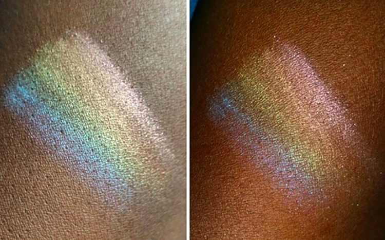 Raibow highligther - iluminador arco-íris
