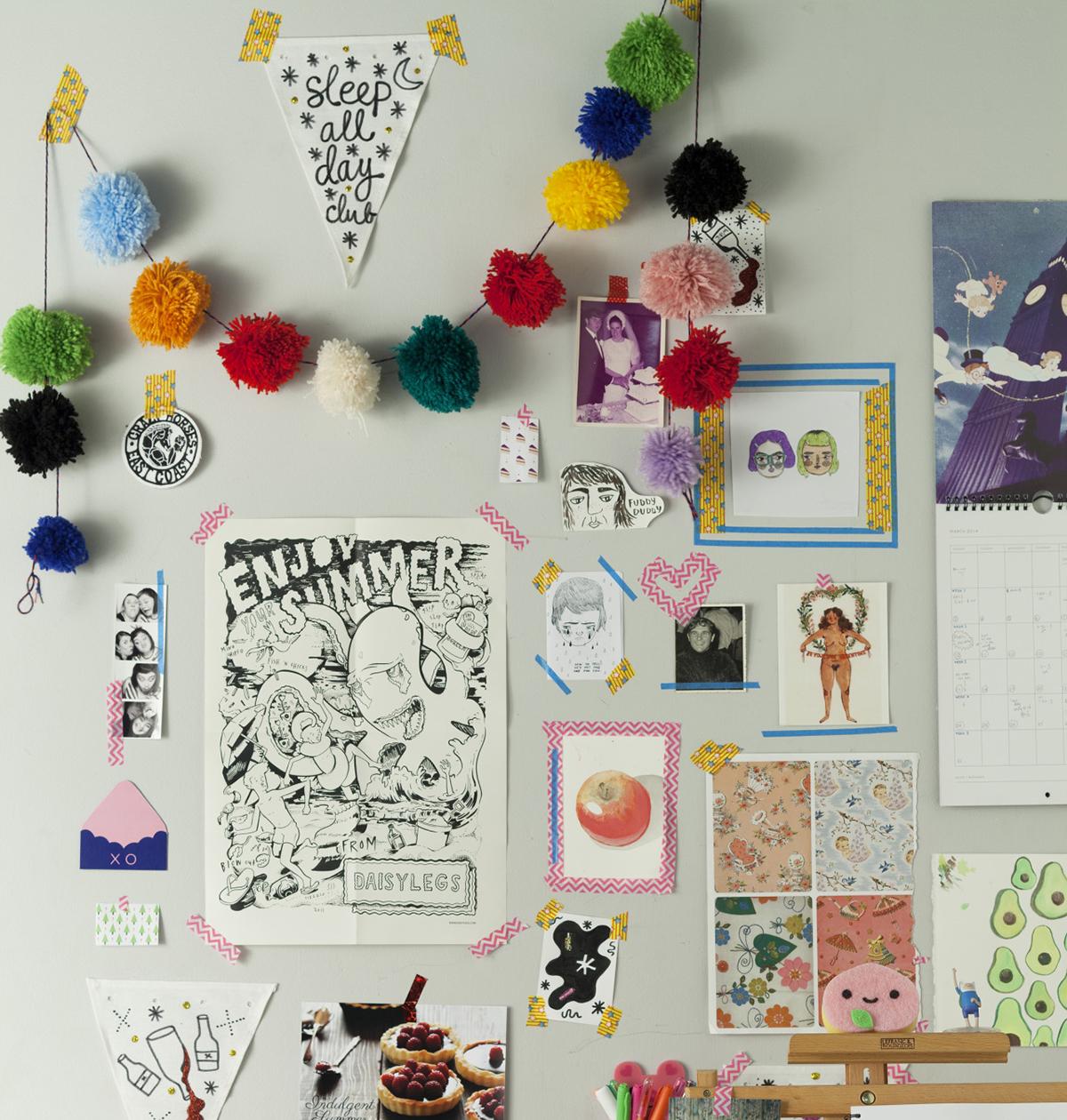 10 ideias para decorar o seu quarto sem gastar muito