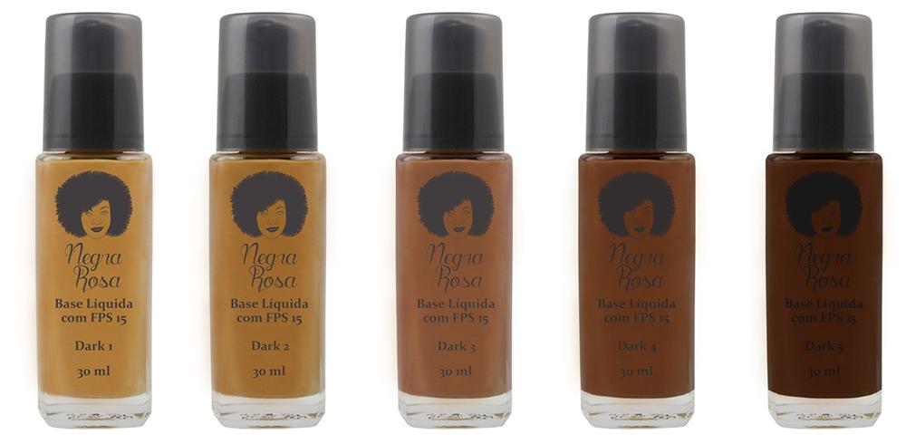 Negra Rosa: a marca de maquiagem que toda mulher negra precisa conhecer