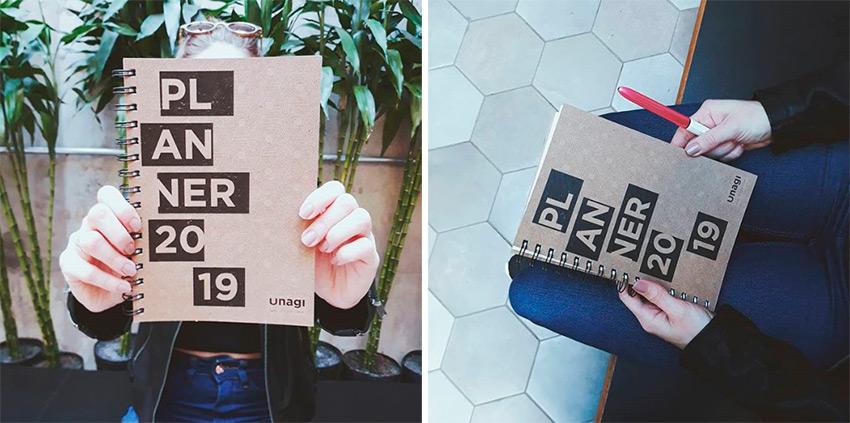 Planner 2019 unagi store